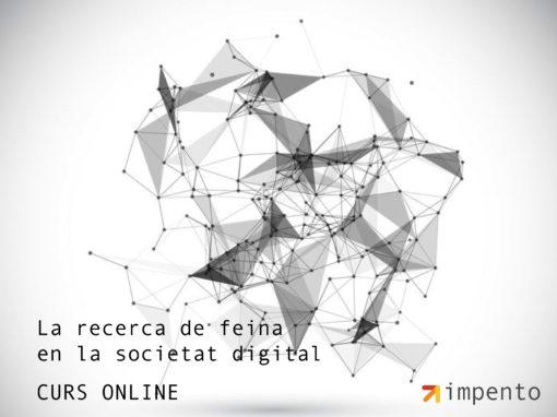 Curs online recerca de feina en la societat digital