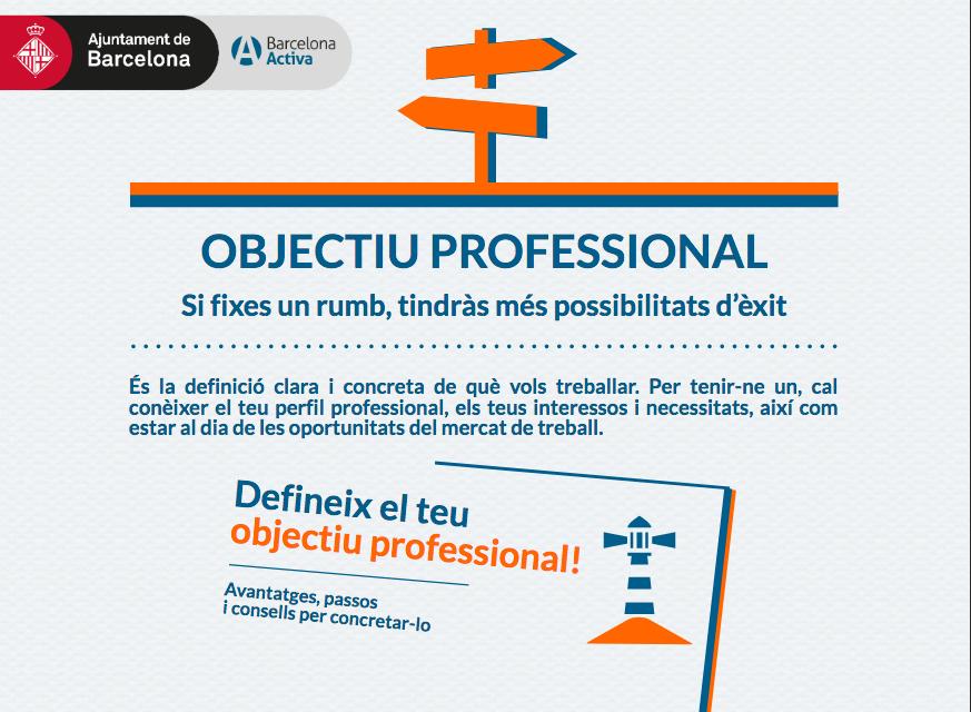 Infografies i vídeos per a la recerca de feina